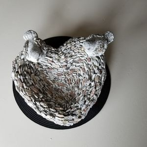 Clay Scupture of Birds